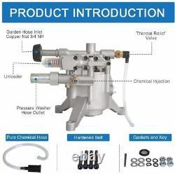 2900-3200 Psi Pressure Washer Pump For Craftsman Subaru 190 Kohler Honda GCV