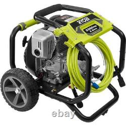 3,300 PSI 2.4 GPM Gas Pressure Washer with Powerful Honda GC190 Engine by RYOBI