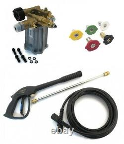 3000 psi Pressure Washer Pump & Spray Kit for Excell EXH2425 with Honda Engines