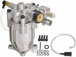 3200Psi Pressure Washer Pump Horizontal 3/4 Troy Bilt Karcher Honda GCV 5-6.5Hp