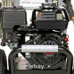 3300 PSI at 2.5 GPM HONDA GX200 with AAA Cold Water Gas Powered Pressure Washer