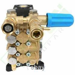 4000 PSI Pressure Washer Pump 1 Horizontal Shaft For Honda GX270 GX340 GX390