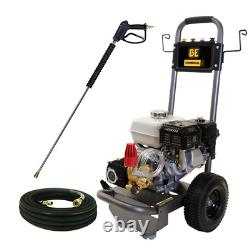 BE Professional 2700 PSI (Gas-Cold Water) Pressure Washer with Honda GX200 Engine