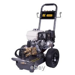 BE Professional 3800 PSI (Gas Cold Water) Pressure Washer with Honda GX270 En