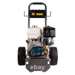 BE Professional 4000 PSI (Gas-Cold Water) Pressure Washer with CAT Pump & Honda