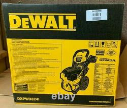 BRAND NEW DEWALT DXPW3324I Honda Gas Pressure Washer 3300 PSI
