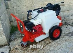 Demon Tornado 150L Bowser Petrol Pressure Washer Honda GX160 portable jet wash