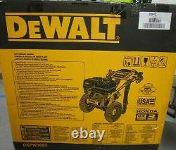 Dewalt HONDA Gas-Powered Pressure Washer DXPW3625 NEW DAMAGED BOX