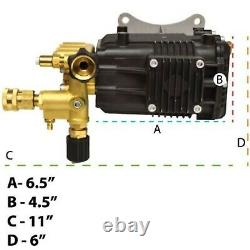 EB4040HA 4000 PSI Pressure Washer Pump Horizontal Shaft 1 Fits Honda Engine