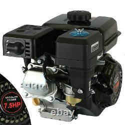 For Honda GX160 4 Stroke Replacement Gas Engine 7.5HP 210cc Horizontal Pullstart