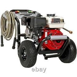Gas Pressure Washer Cold Water 3500 PSI 2.5 GPM AAA Pump Honda Engine