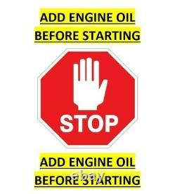HONDA ENGINE GX120-QA2(NOA) 1 Dia. X 3-5/32 Crankshaft 688CC