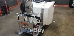 Honda Powered Commercial Pressure Washer Skid All Aluminum Frame New