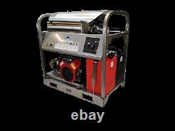 Hot/Cold Water Pressure Washer-10gpm/3500psi-Honda GXi800 Engine-Fuel Injected