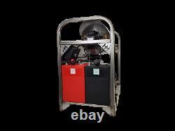 Hot/Cold Water Pressure Washer 6gpm/4000psi-GX630 Honda Engine-Belt Drive