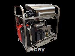Hot/Cold Water Pressure Washer 8gpm/3200psi-GX630 Honda Engine-Belt Drive