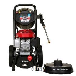 MegaShot MS60805-S 3000 PSI at 2.4 GPM HONDA GCV160 Cold Water Pressure Washer