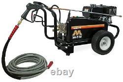 Mi-T-M Gasoline Belt Drive Pressure Washer Honda Engine General Pump 4000 psi