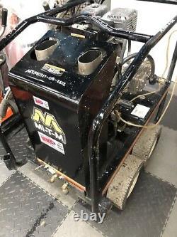 Mi-T-M Hot Pressure Washer+E+E 3500 PSI Honda GX390 Engine Hot Water Gasoline
