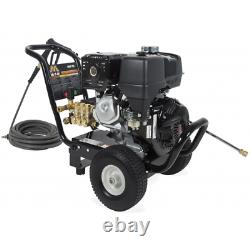 Mi-T-M Professional 4000 PSI (Gas-Cold Water) Pressure Washer with Honda GX390