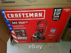 NEW Craftsman (Honda Engine) 2800-PSI 2.3-GPM Cold Water Gas Pressure Washer