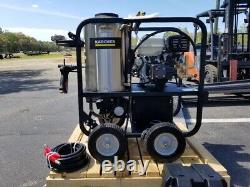 NEW KARCHER SHARK SGP-403537E Honda with Electric Start Hot Water Pressure Washer