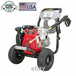 NEW Simpson Megashot 3300 PSI 2.4 GPM Gas Pressure Washer with Honda Engine