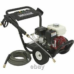 NS Gas Cold Water Pressure Washer 3300 PSI, 2.5 GPM, Honda Engine