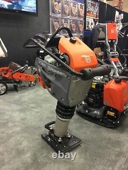 New Husqvarna LT 5005 Rammer Soil Compactor with Honda GXR 120 Engine Tamping