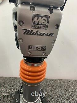 New Multiquip-Mikasa MTX60HD Rammer Stone Tamper GasPower Honda Engine Open Box