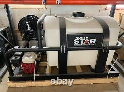 NorthStar Cold Water Pressure Washer with200-Gal. Tank 2000 PSI, Honda Engine Q-19