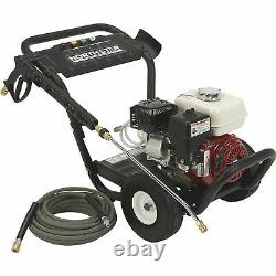 NorthStar Gas Cold Water Pressure Washer 3300 PSI, 2.5 GPM, Honda Engine