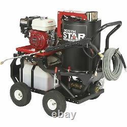 NorthStar Hot Water Pressure Washer with Wet Steam 2700 PSI 2.5 GPM Honda Engine