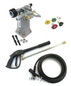 PRESSURE WASHER PUMP & SPRAY KIT for Excell EXH2425 with Honda Engines with Valve