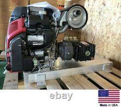 PRESSURE WASHER Skid Mount Cold Water 5.5 GPM 5000 PSI 22 Hp Honda