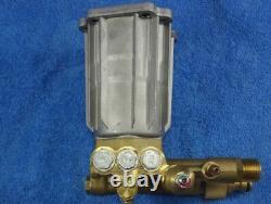Pressure Washer Replacement Brass Head Pump Petrol Honda Gx160 180bar @ 9ltrs