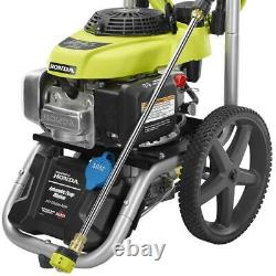 RYOBI 3000 PSI 2.3-GPM Honda Gas Pressure Washer and 15 in. Surface Cleaner