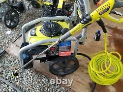 RYOBI 3300 PSI 2.3 GPM Cold Water Gas Pressure Washer with Honda GCV190 Idle