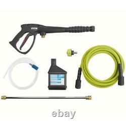 RYOBI Pressure Washer 2.3-GPM 3000 PSI Honda Gas Detergent Injection Cold Water