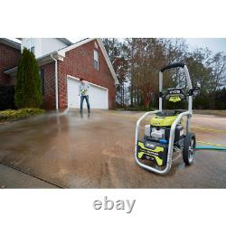 RYOBI Pressure Washer 2.3 GPM Honda Engine Polyurethane Hose Axial Pump