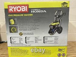 Ryobi 3000 PSI 2.3 GPM Honda Gas Pressure Washer RY803001 NEW