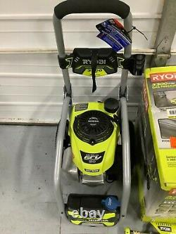 Ryobi 3300 PSI 2.3 GPM Cold Water Gas Pressure Washer with Honda GCV190