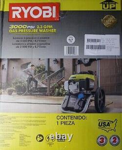 Ryobi RY803001 Honda Gas Pressure Washer