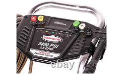 SIMPSON Cleaning ALH3228-S ALH3228 3400 PSI at 2.5 GPM Gas Powered by HONDA GX2