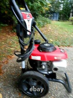SIMPSON GAS PRESSURE WASHER 3000 PSI 2.4 GPM With HONDA ENGINE MODEL #MSV3024R