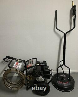 Simpson 4200 PSI Pressure Washer And 20 Inch Surface Cleaner Used Once Honda