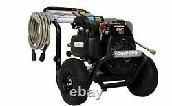 Simpson Cleaning MSH3125 MegaShot Gas Pressure Washer Powered by Honda GC190, 32