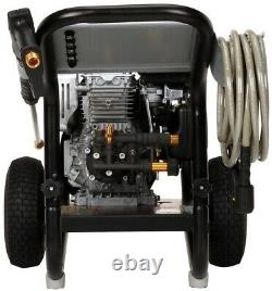 Simpson Gas Pressure Washer 3200 PSI 2.5 GPM HONDA GC190 Engine 10 in. Wheels