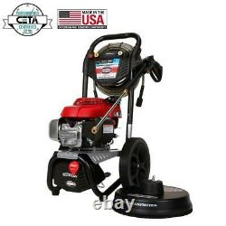 Simpson MS60805-S 3000 PSI at 2.4 GPM gas pressure washer powered by HONDA