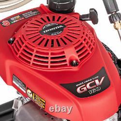 Simpson MegaShot 3,000 PSI 2.4 GPM Gas Pressure Washer with Honda Engine